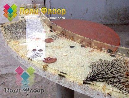 Столешница из наливные полы гидроизоляция пенетрат в лозовой